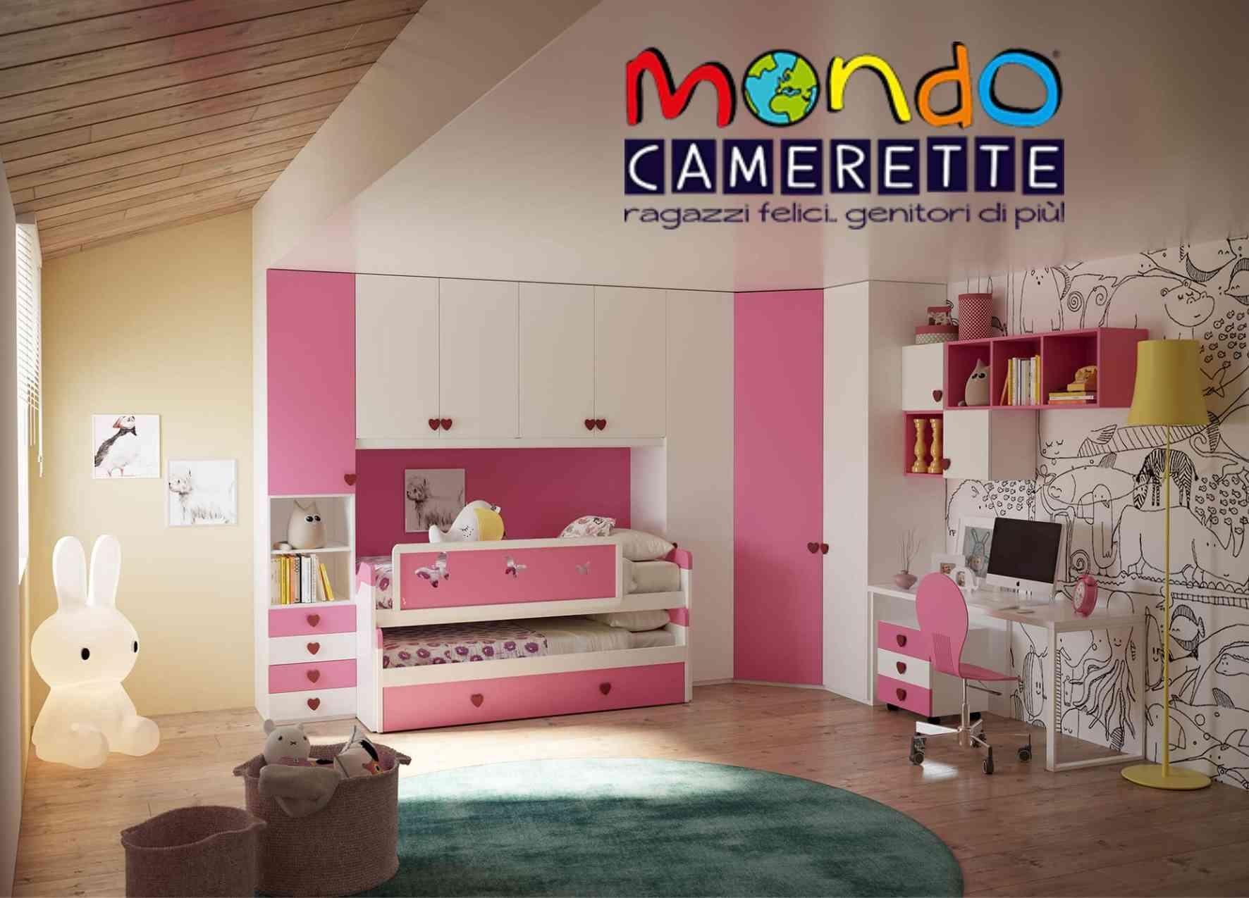 Cameretta Bimba A Ponte camerette in offerta, camerette per bambini in sconto volantino