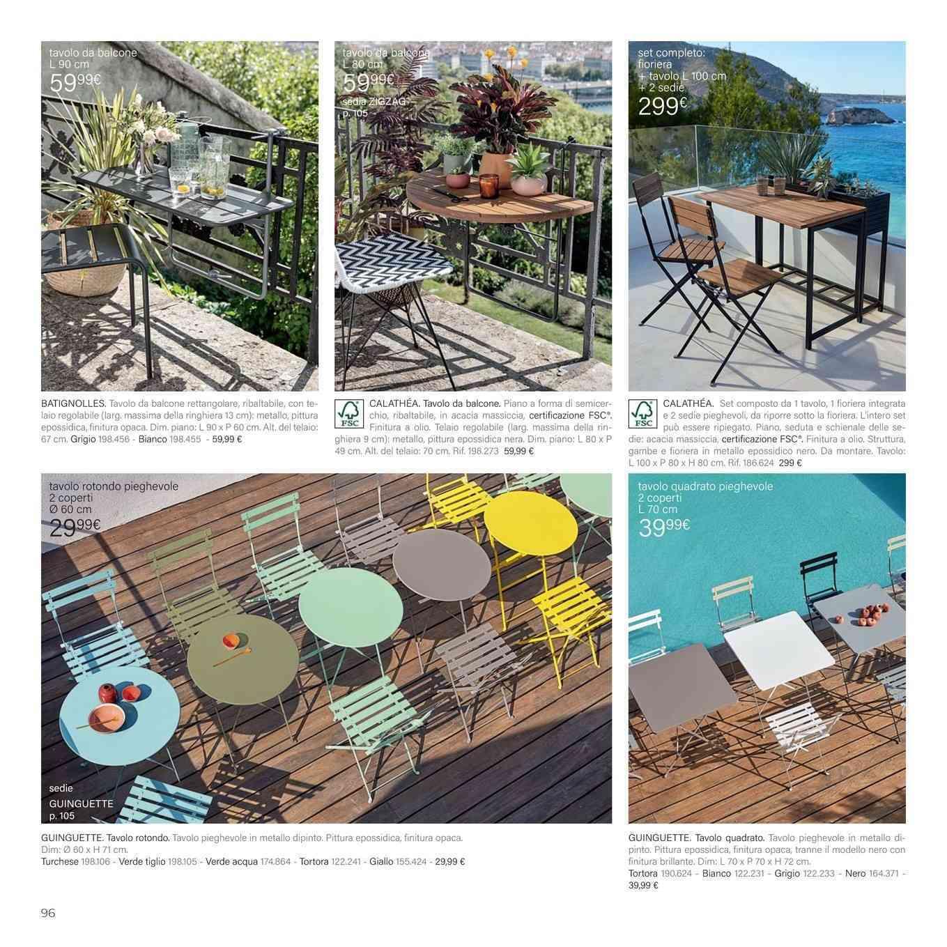 Leroy Merlin Fioriere Da Balcone offerte tavoli pieghevoli, negozi per arredare casa - promoqui