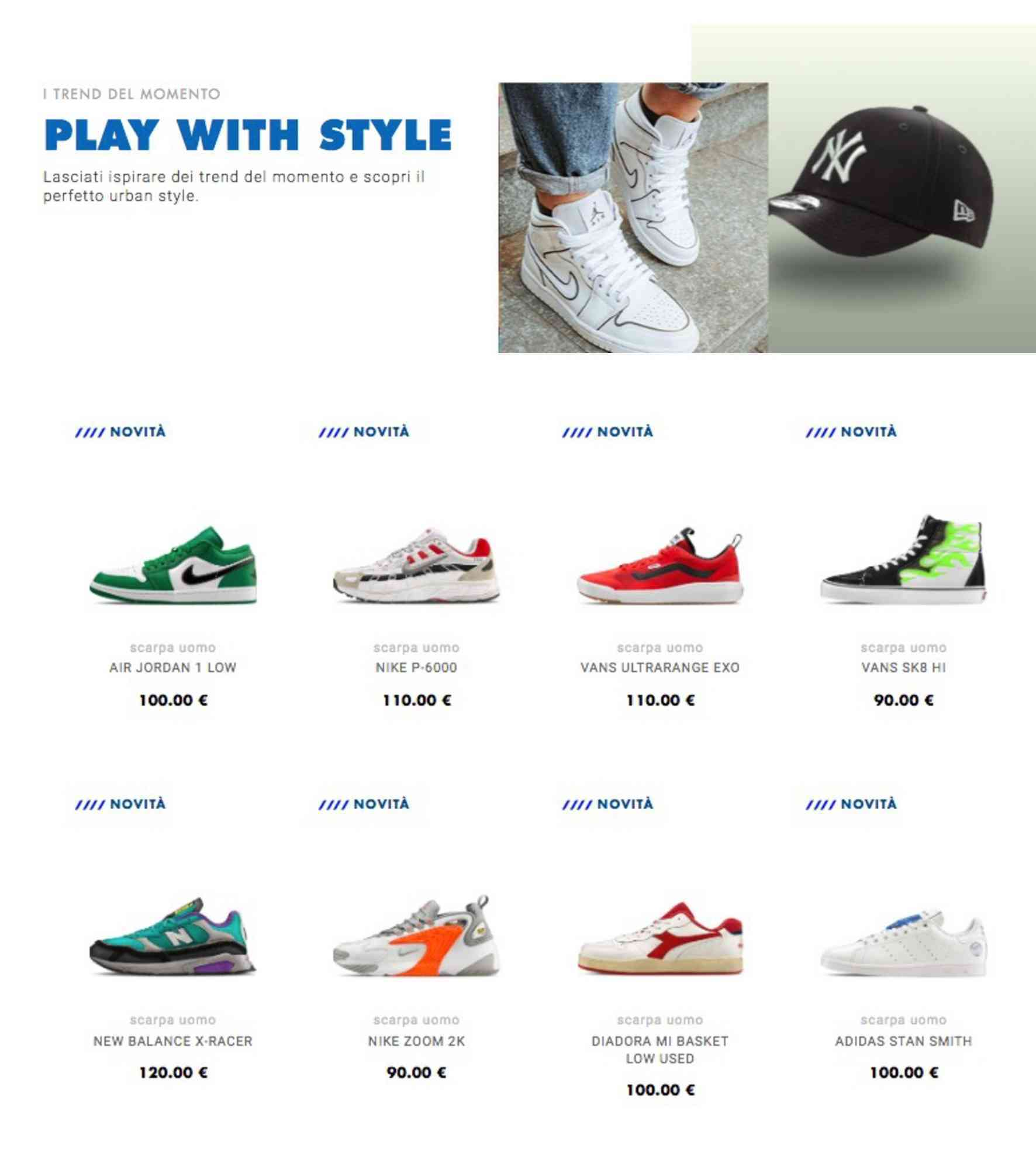 Fantasia srl Tante promozioni sulle scarpe da uomo: non