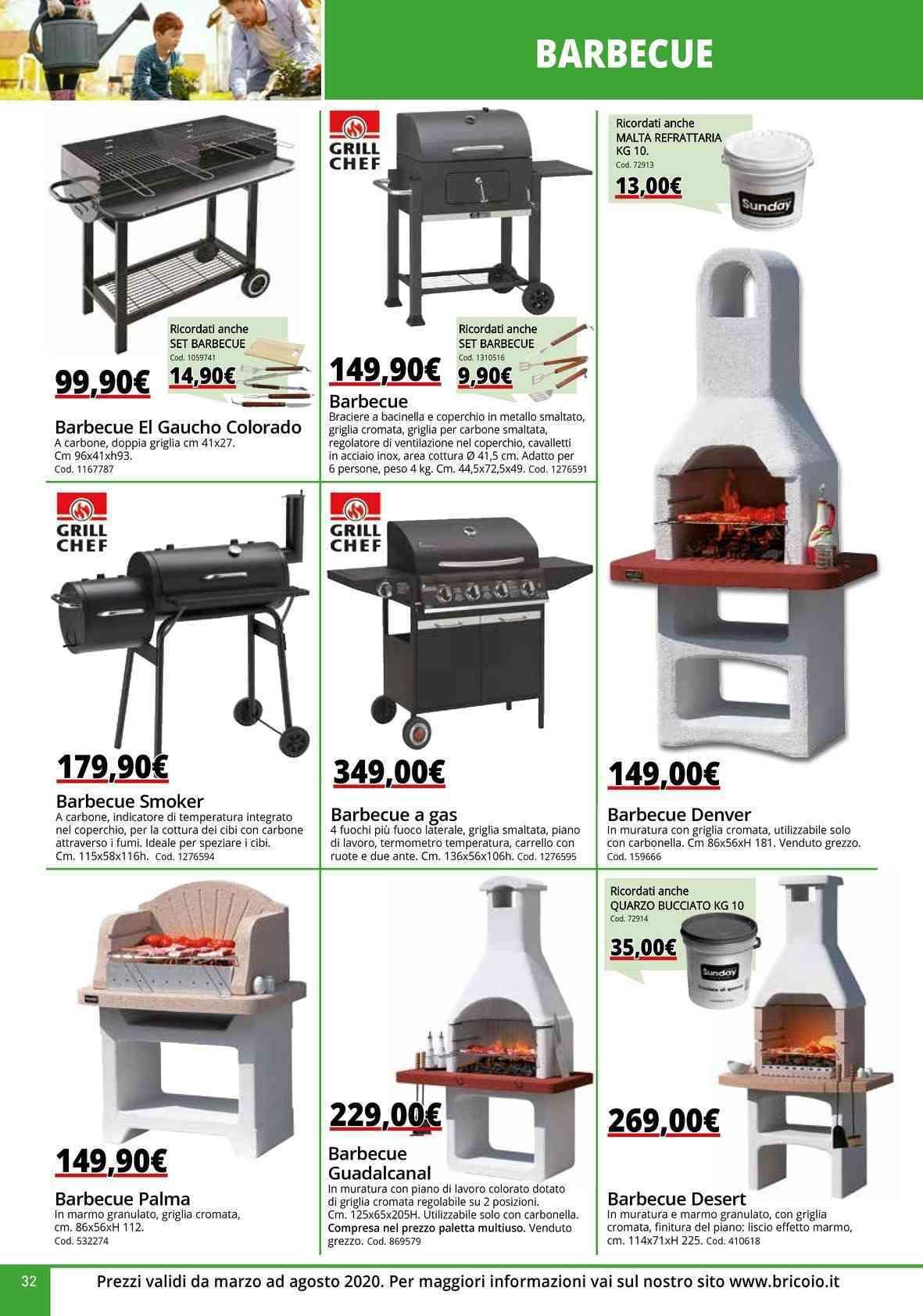 Barbecue In Muratura Immagini offerte barbecue in muratura, prezzo negozio vicino