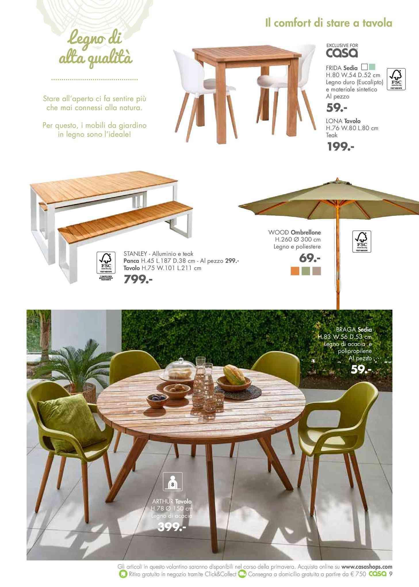 Offerte mobili da giardino Cavalese, arredo giardino, gazebo