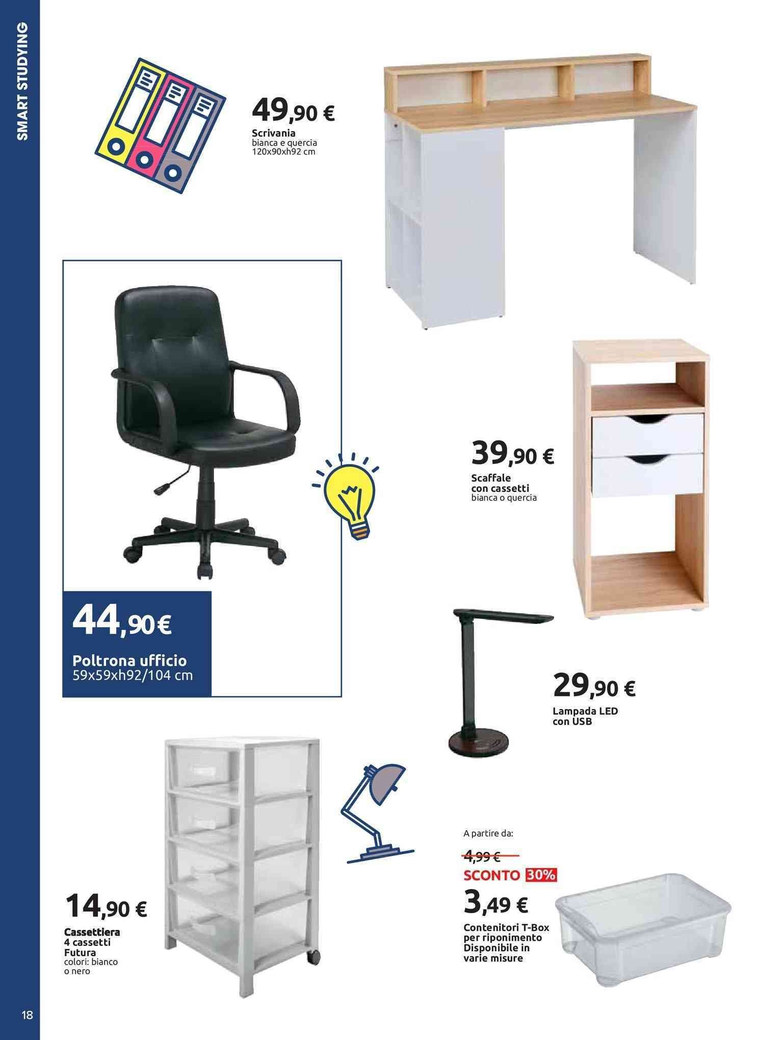 Offerte Poltrone ufficio, negozi per arredare casa - PromoQui