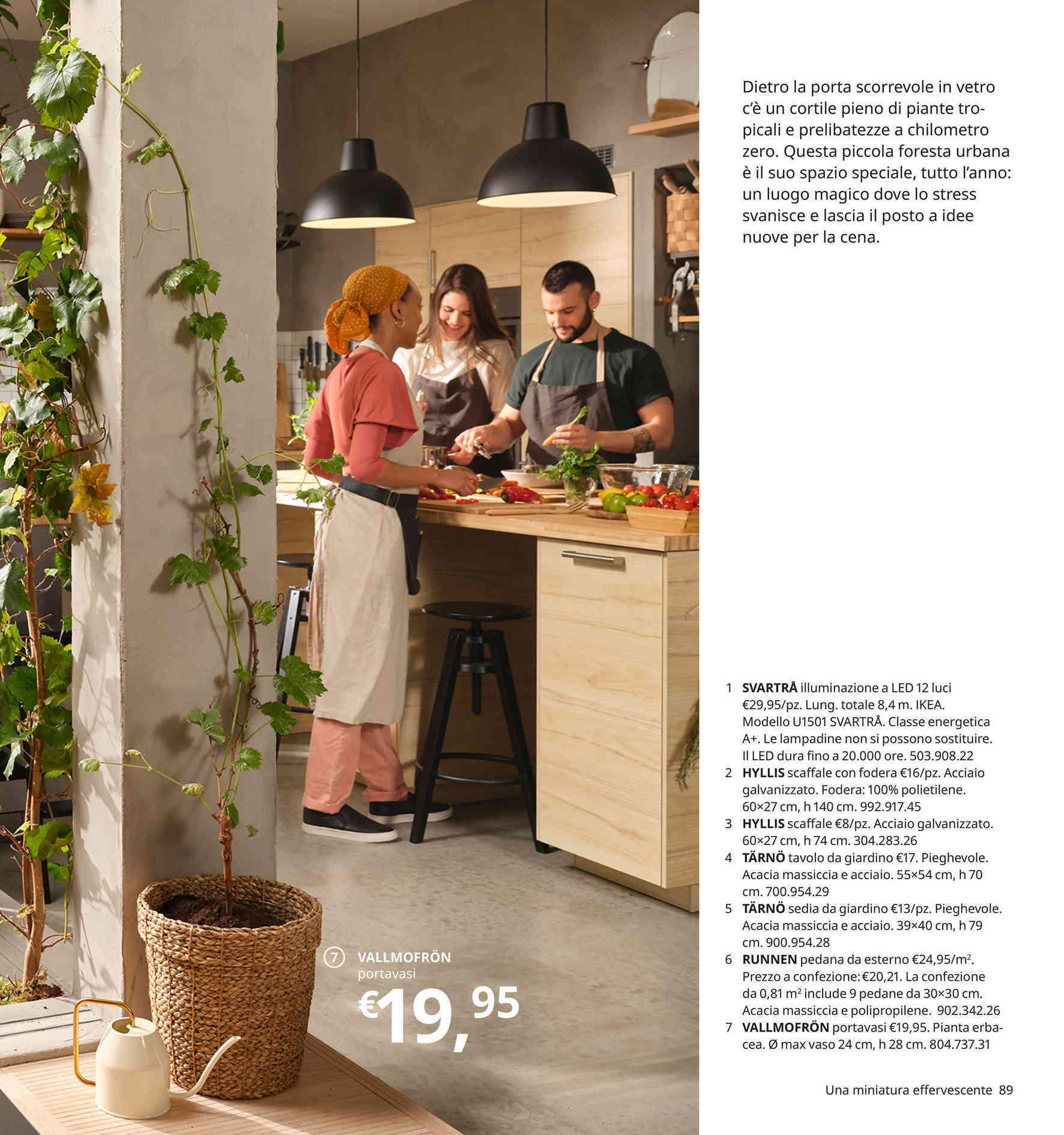 Offerte Tavoli da giardino nel volantino, prezzi negozio ...