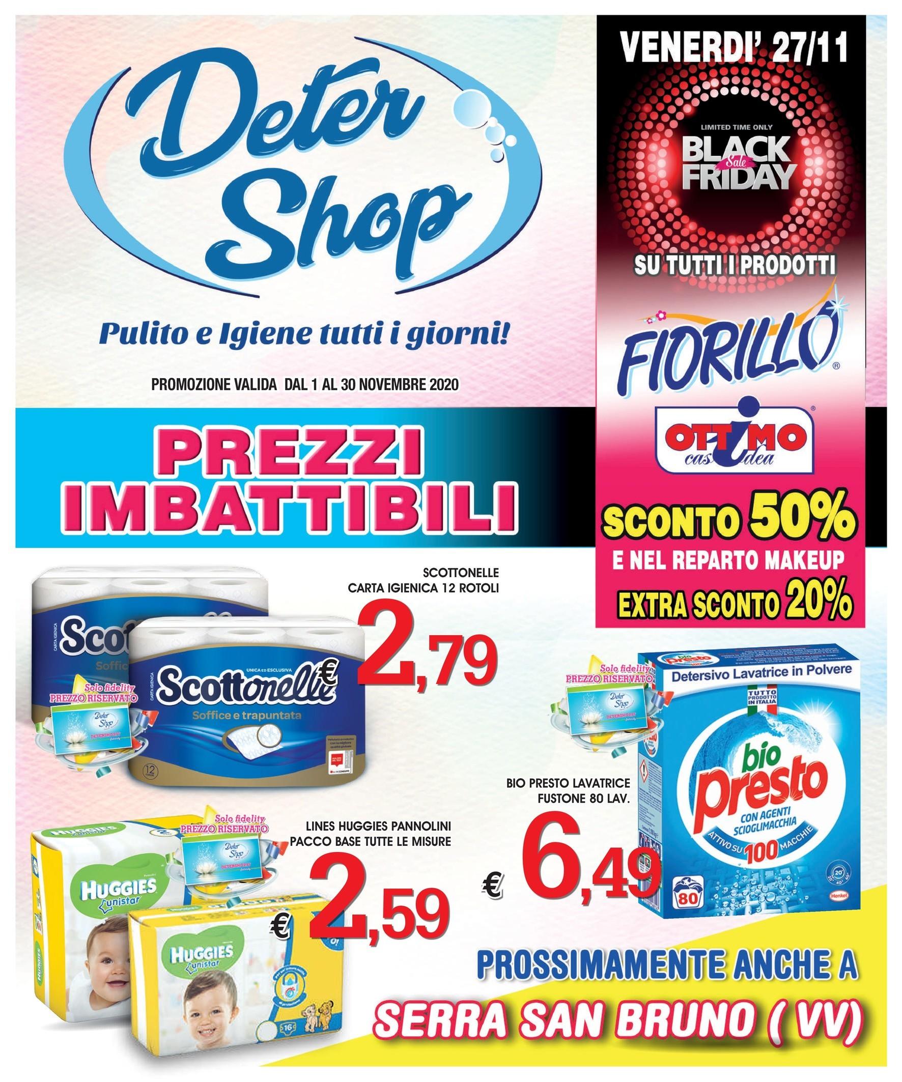 Volantino Deter Shop A Rossano Offerte Negozi E Orari