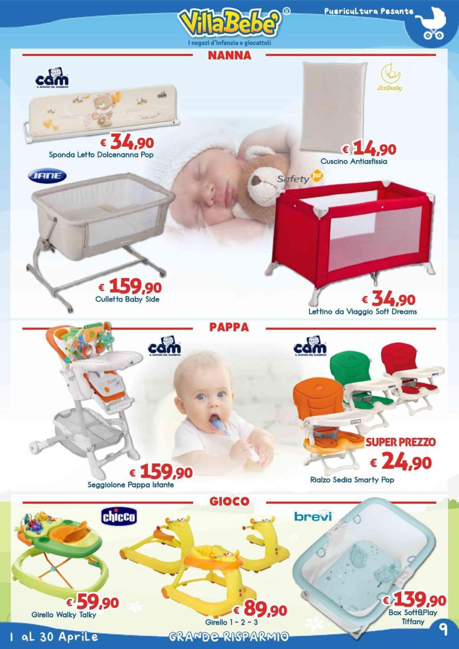 Offerte Rialzo sedia, negozi prima infanzia - PromoQui